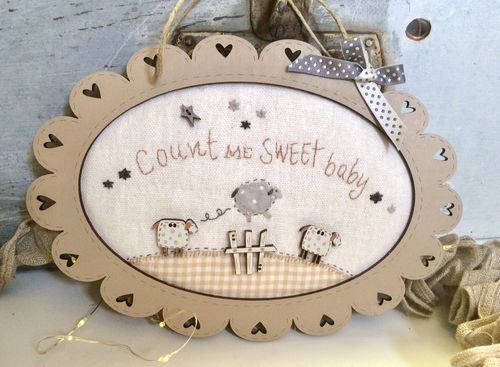 The Bee Company - Kit de patchwork cadre mouton Count me KTB17