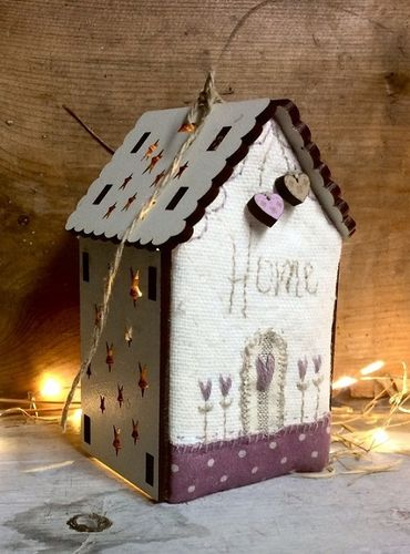 The Bee Company - Kit de patchwork Maison lumineuse Home PCNI20A