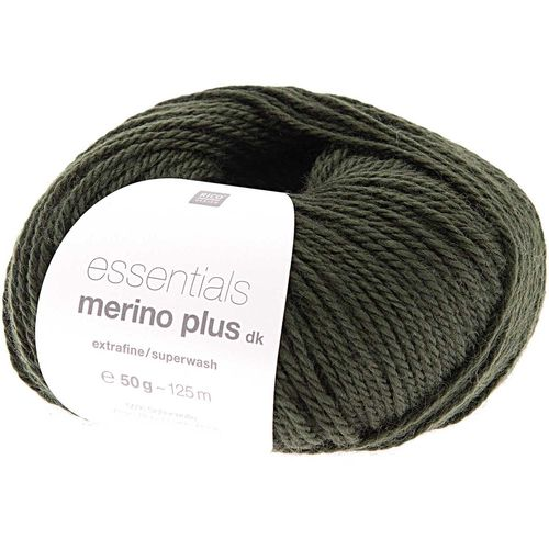 Rico Design - Essentials Merino plus DK coloris Olive 021