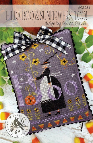 With Thy Needle & Thread - Hilda boo & sunflowers , too!