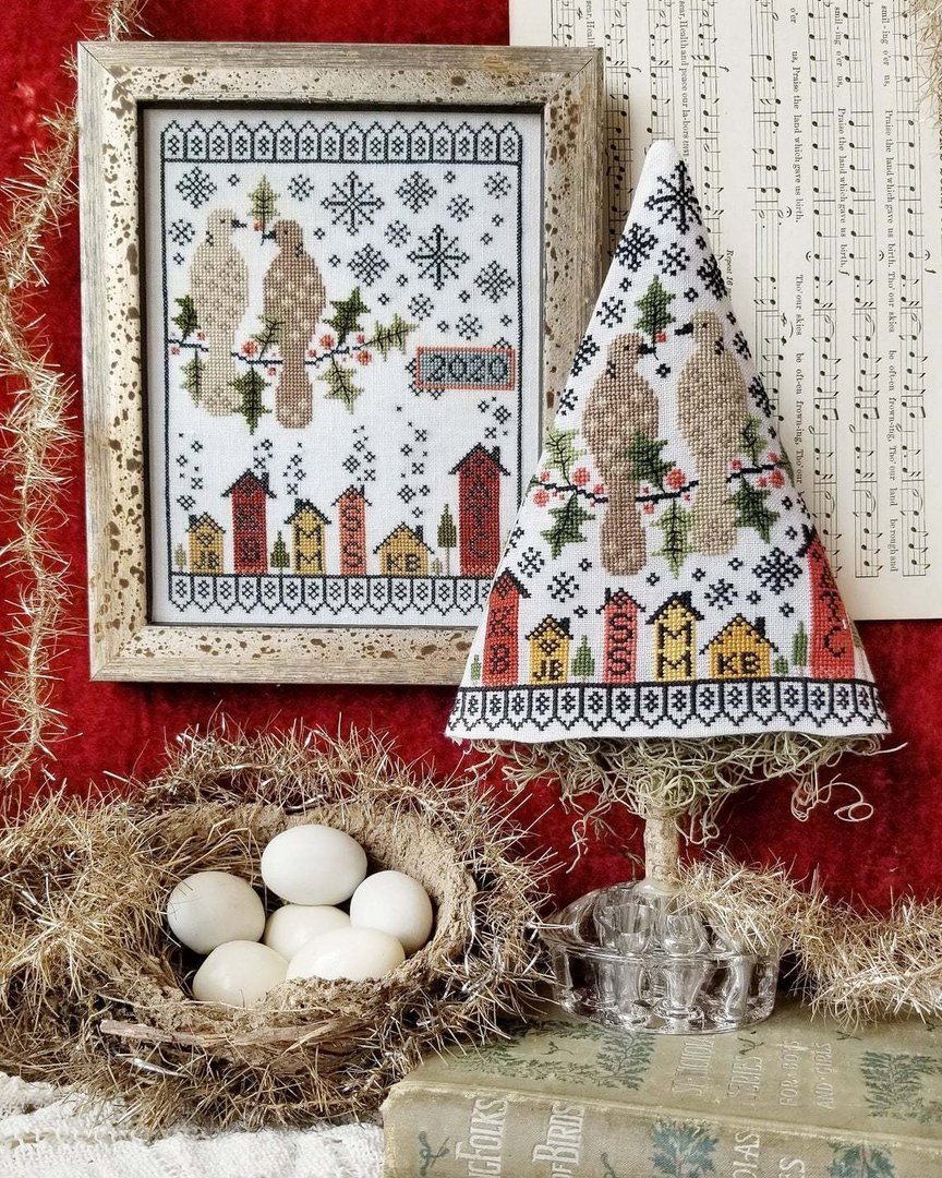 Hello - Second day of christmas sampler & Tree