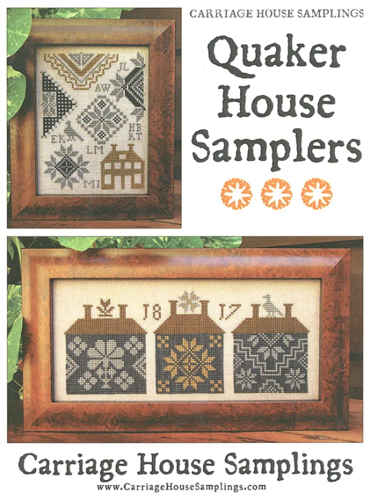 Carriage House Samplings - Quaker house sampler